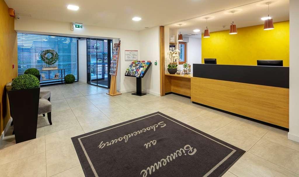 Best Western Hotel le Schoenenbourg - Vue du lobby