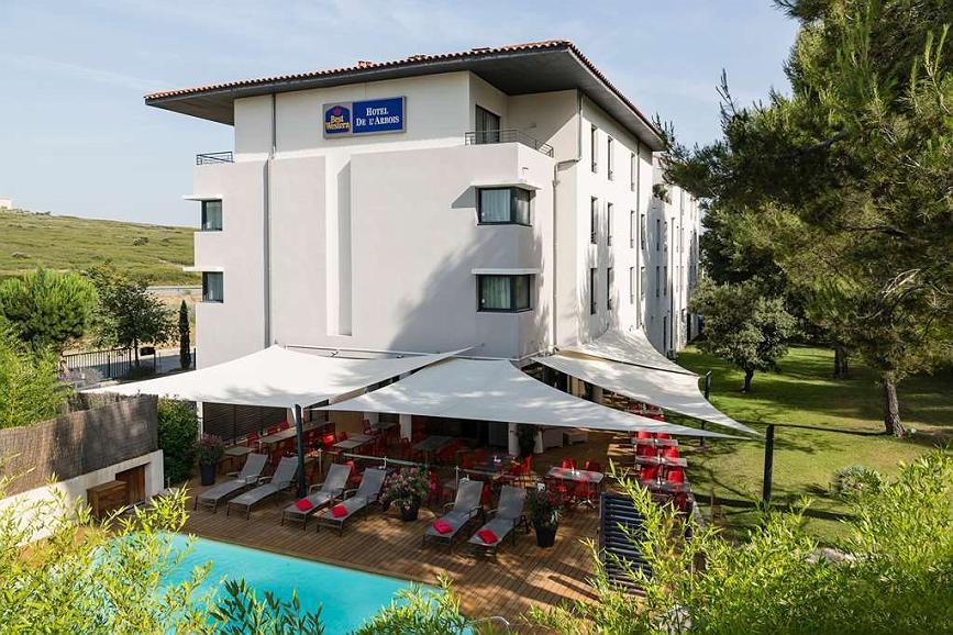 Best Western Plus Hotel de l'Arbois - Aussenansicht