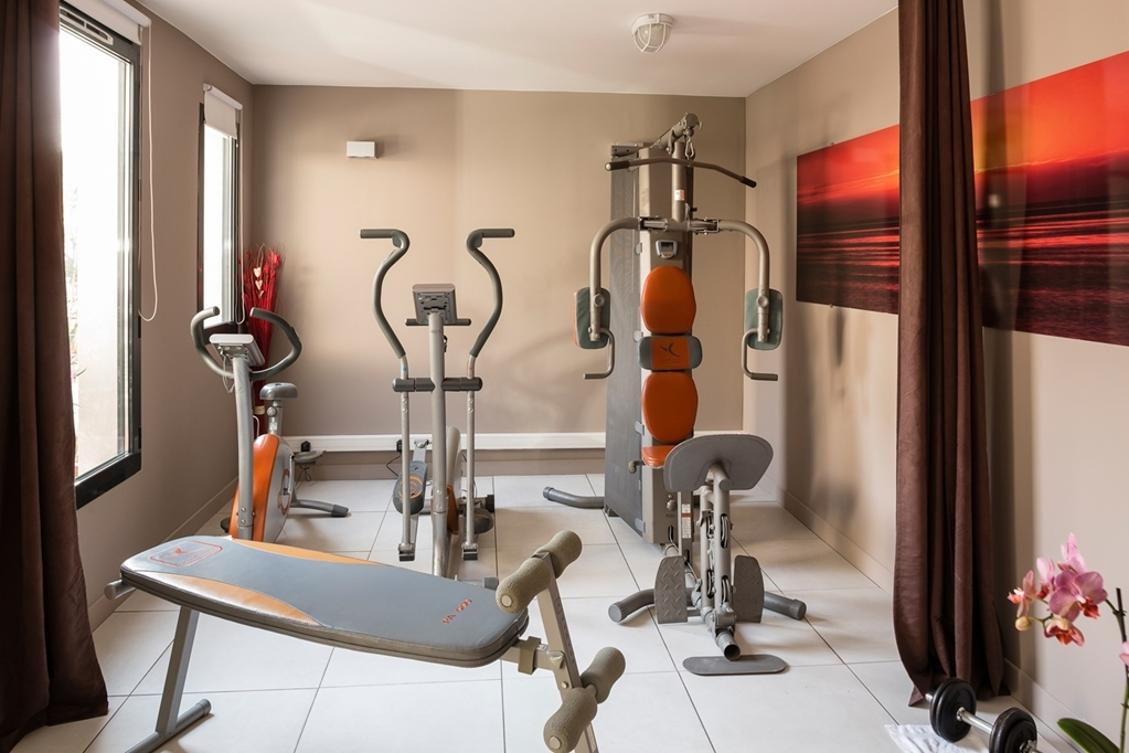 Best Western Plus Hotel de l'Arbois - fitnessraum