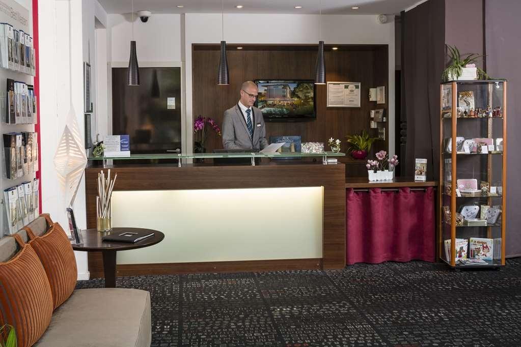Best Western Plus Hotel de l'Arbois - empfang