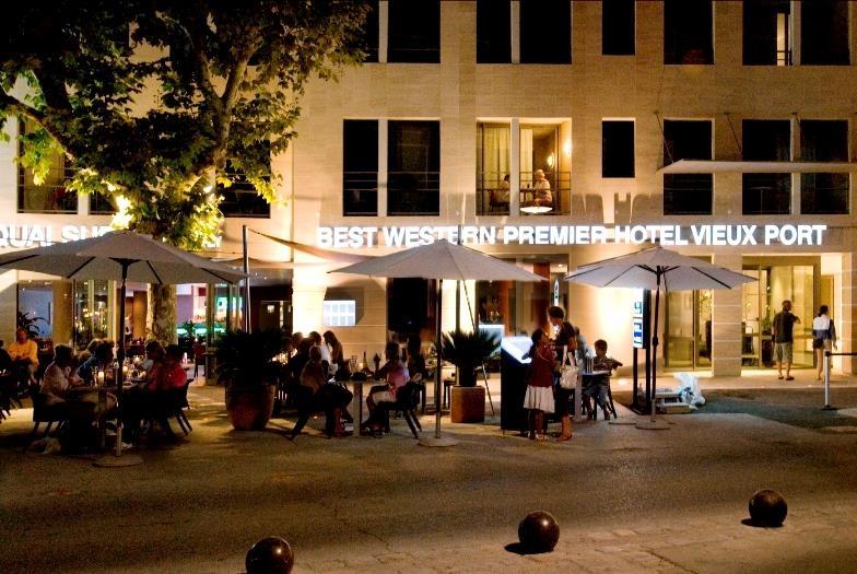 Best Western Premier Vieux Port - Facciata dell'albergo