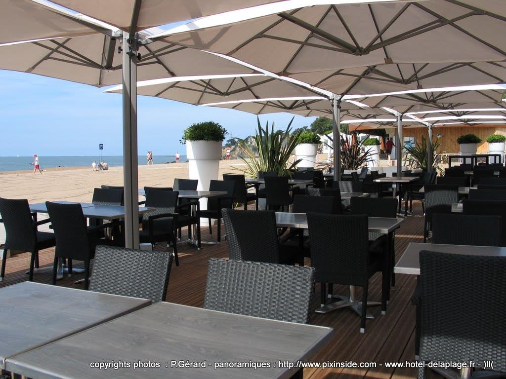 Best Western Hotel De La Plage - Terrasse