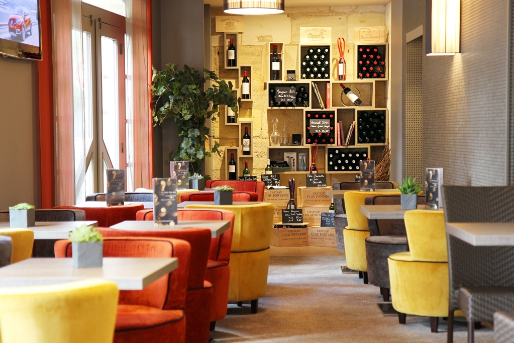 Best Western Plus Gare Saint Jean - Bar/Lounge