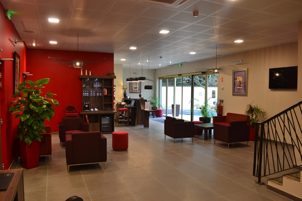 Best Western Hotel des Barolles - Lyon Sud - Lobbyansicht