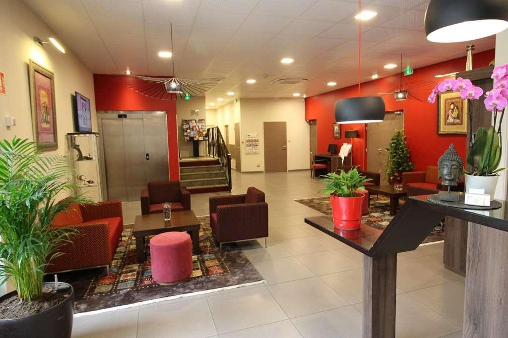 Best Western Hotel des Barolles - Lyon Sud - Lobby