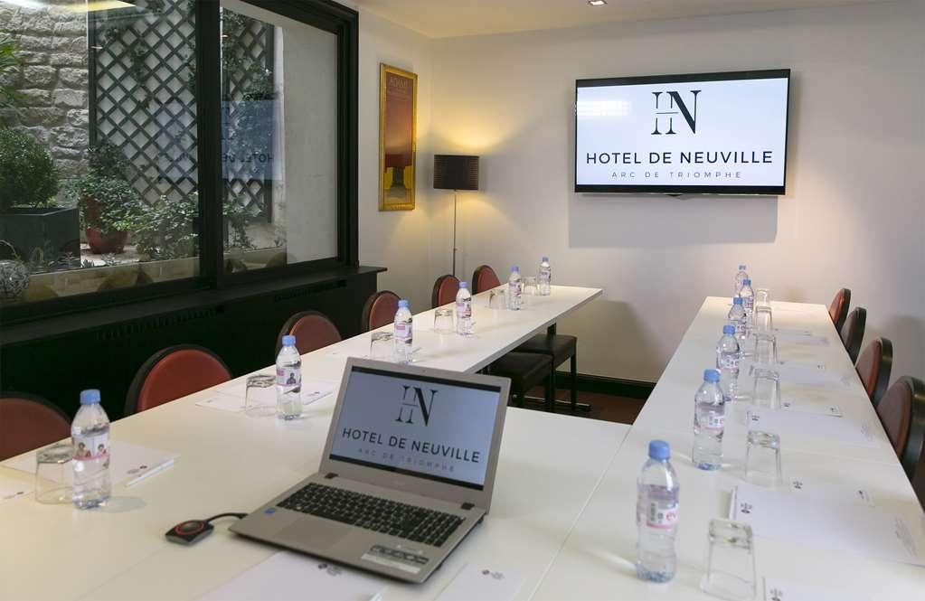 Best Western Plus Hotel de Neuville Arc de Triomphe - Sala de reuniones