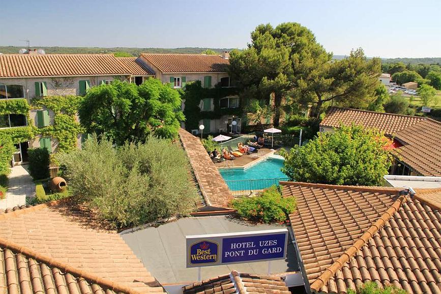 Best Western Hotel Uzes Pont Du Gard - Area esterna