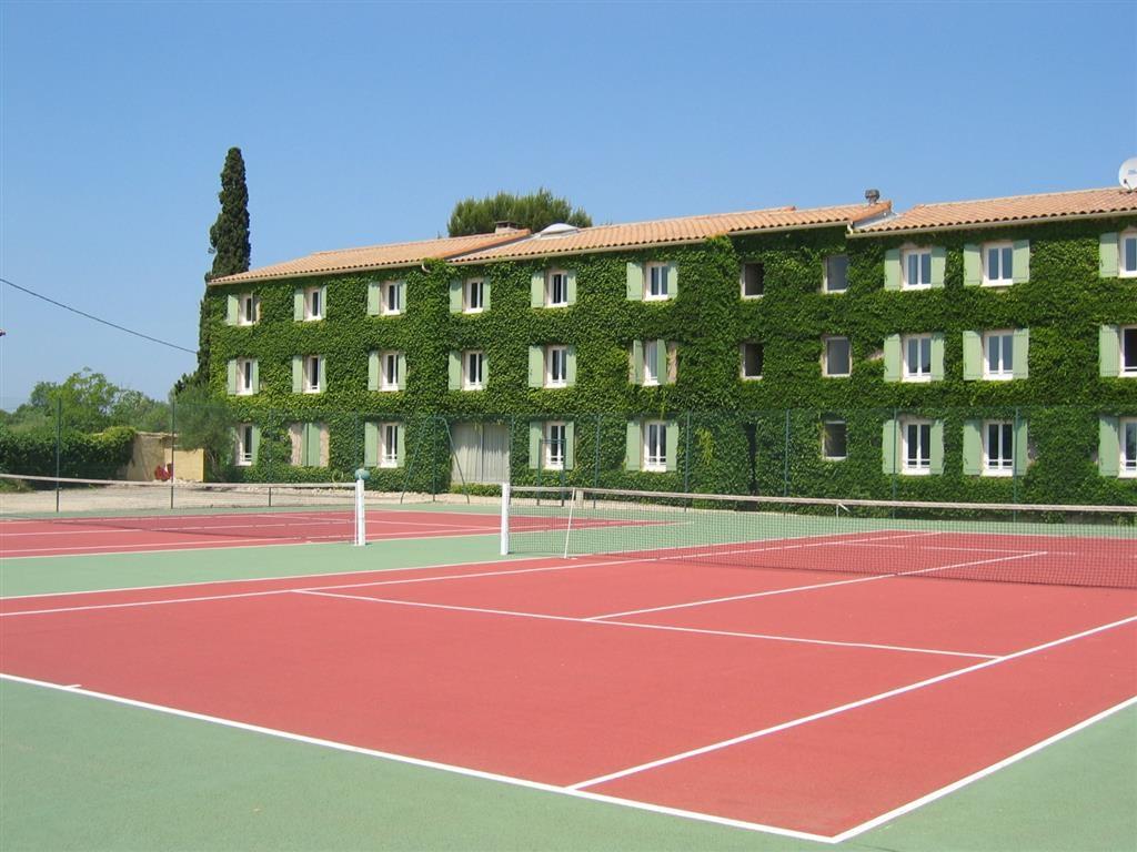 Best Western Hotel Uzes Pont Du Gard - Tennisplätze
