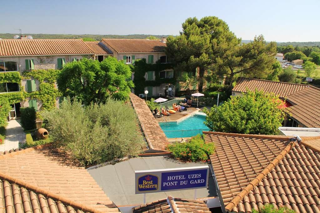 Best Western Hotel Uzes Pont Du Gard - Façade