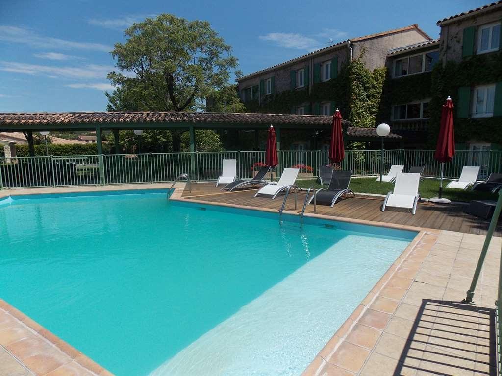 Best Western Hotel Uzes Pont Du Gard - Piscina al aire libre