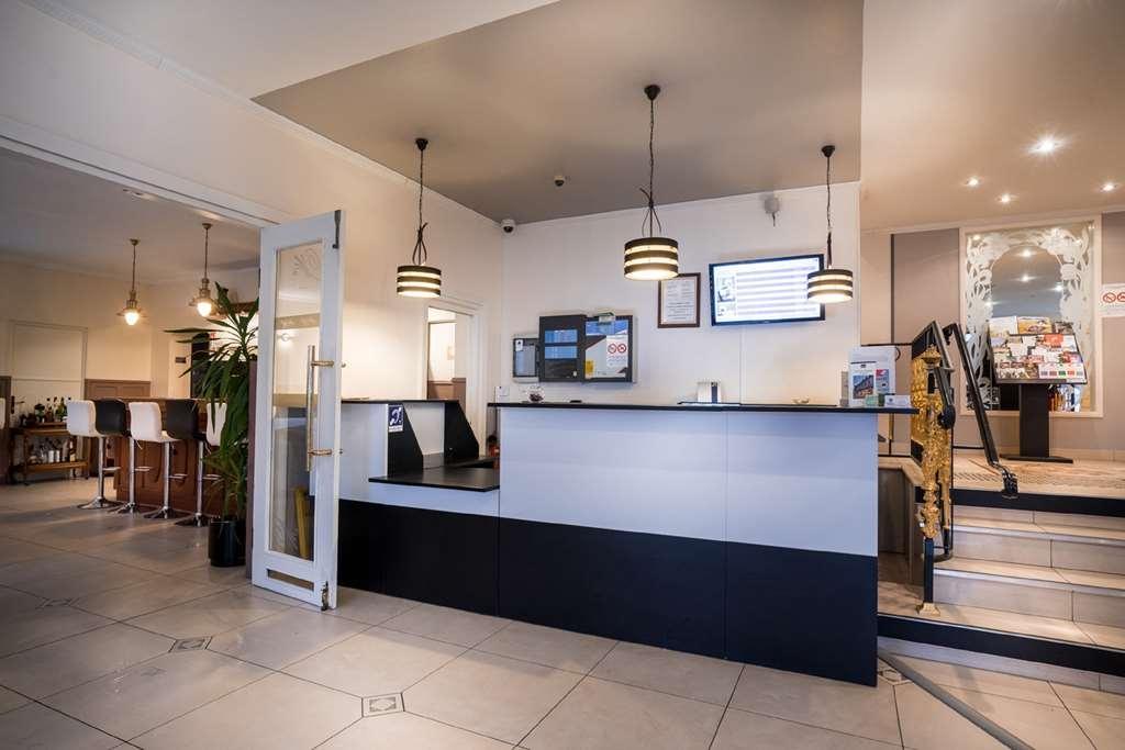 Best Western Hotel Ile de France - Vue du lobby