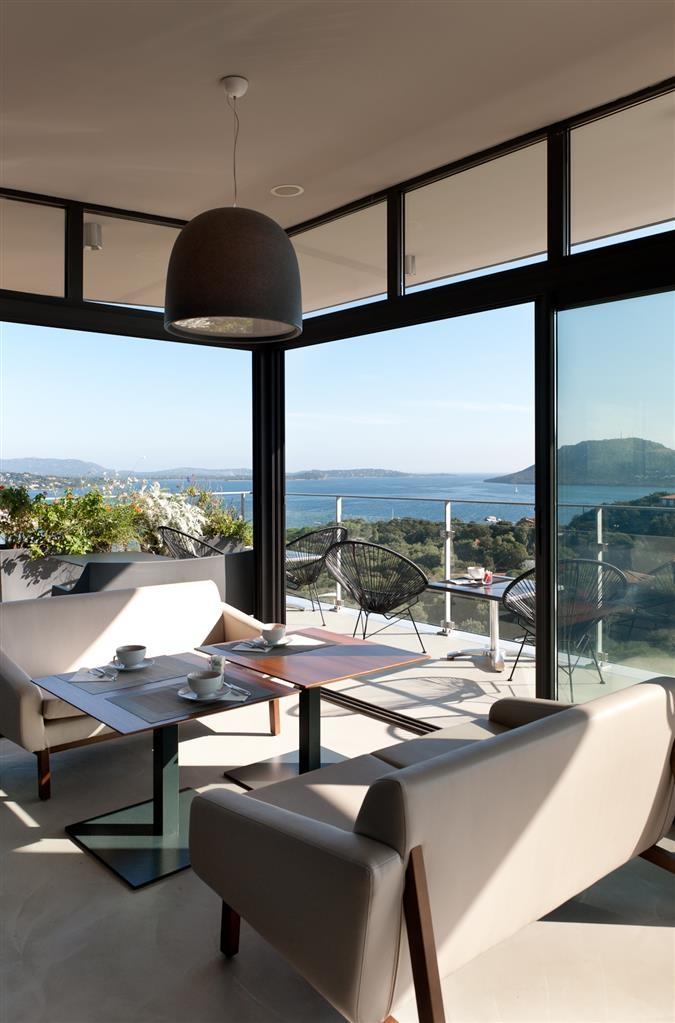 Best Western Hotel Alcyon - Terraza