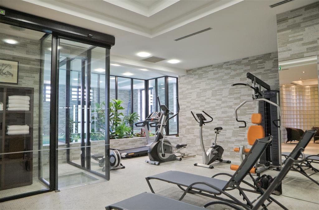 Best Western Plus Hotel des Francs - Centre de fitness