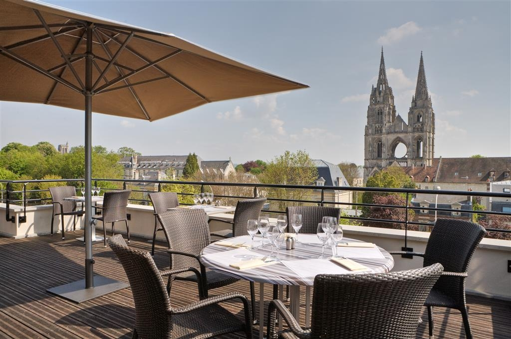 Best Western Plus Hotel des Francs - Terrace