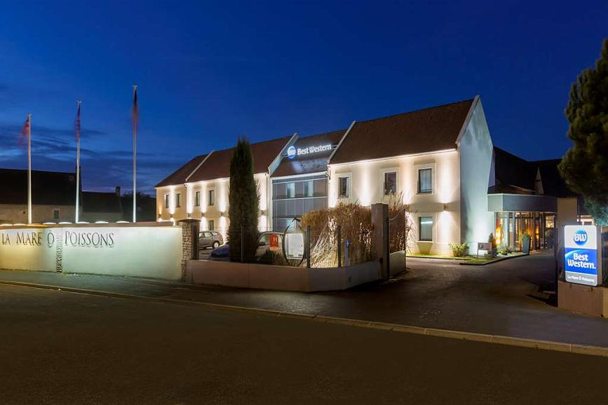 Best Western Hotel La Mare O Poissons - Vue extérieure