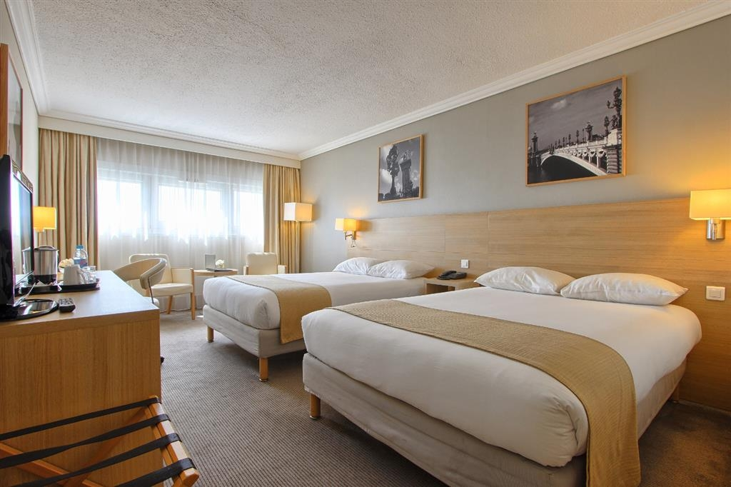 Best Western Paris CDG Airport - Camera standard con letto matrimoniale