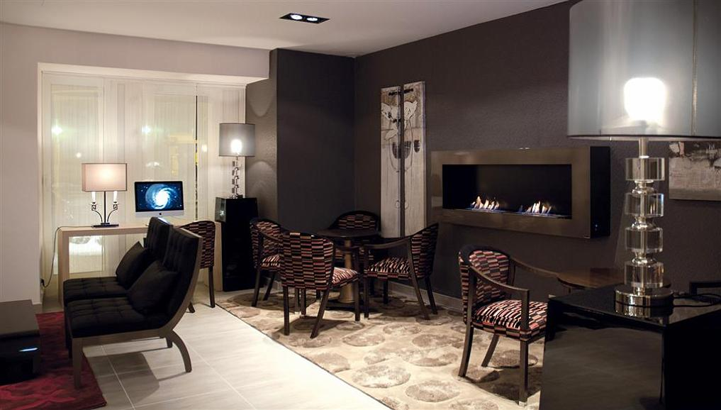 Best Western Hotel Belfort Centre Gare - Best Western Hotel Belfort Centre Gare Lobby