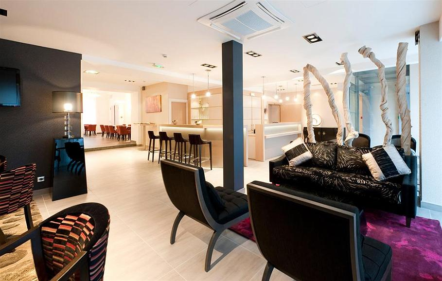 Best Western Hotel Belfort - Lobby Area