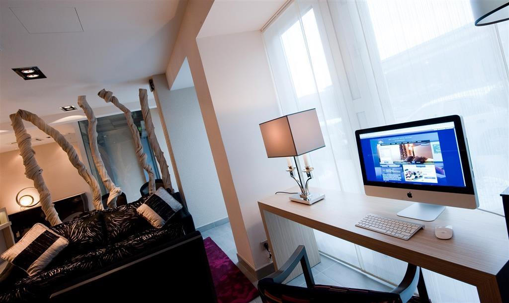 Best Western Hotel Belfort - Foyerbereich