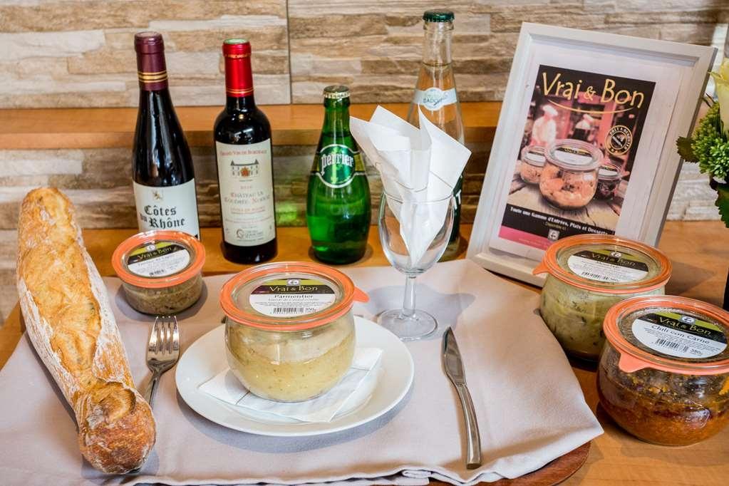 Best Western Hotel des Voyageurs - plateau repas