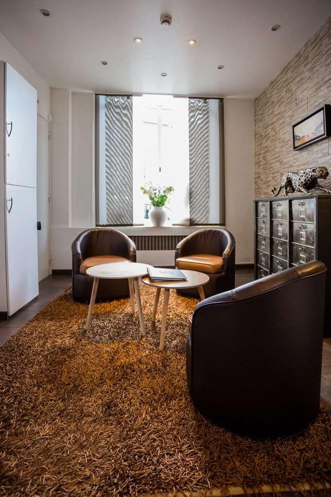 Best Western Hotel des Voyageurs - petit salon