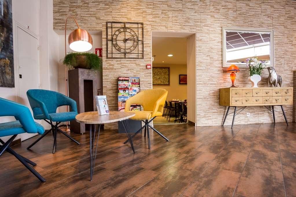 Best Western Hotel des Voyageurs - reception