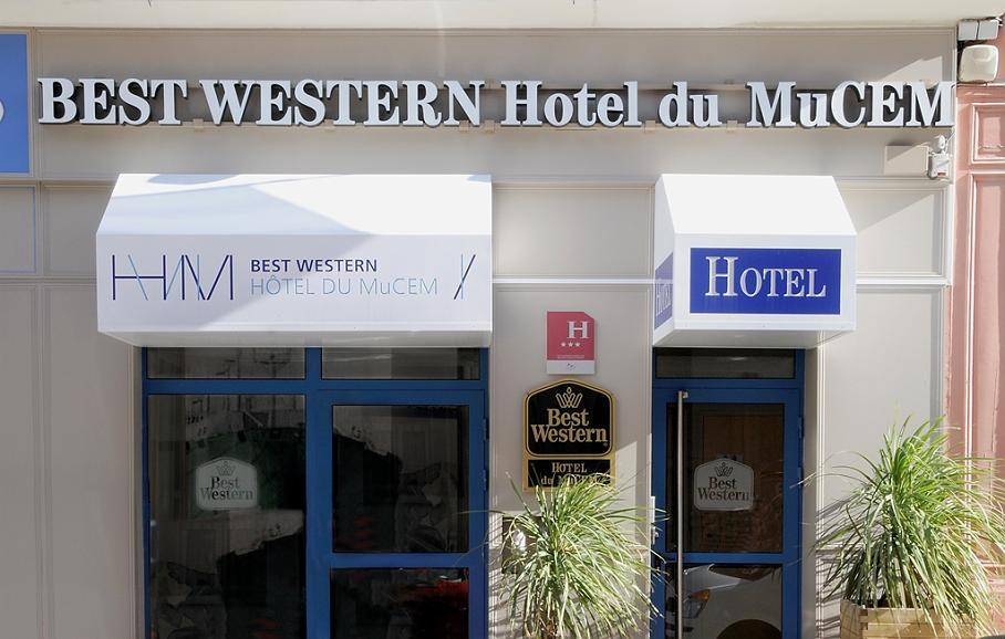 Best Western Hotel du Mucem - Vue extérieure