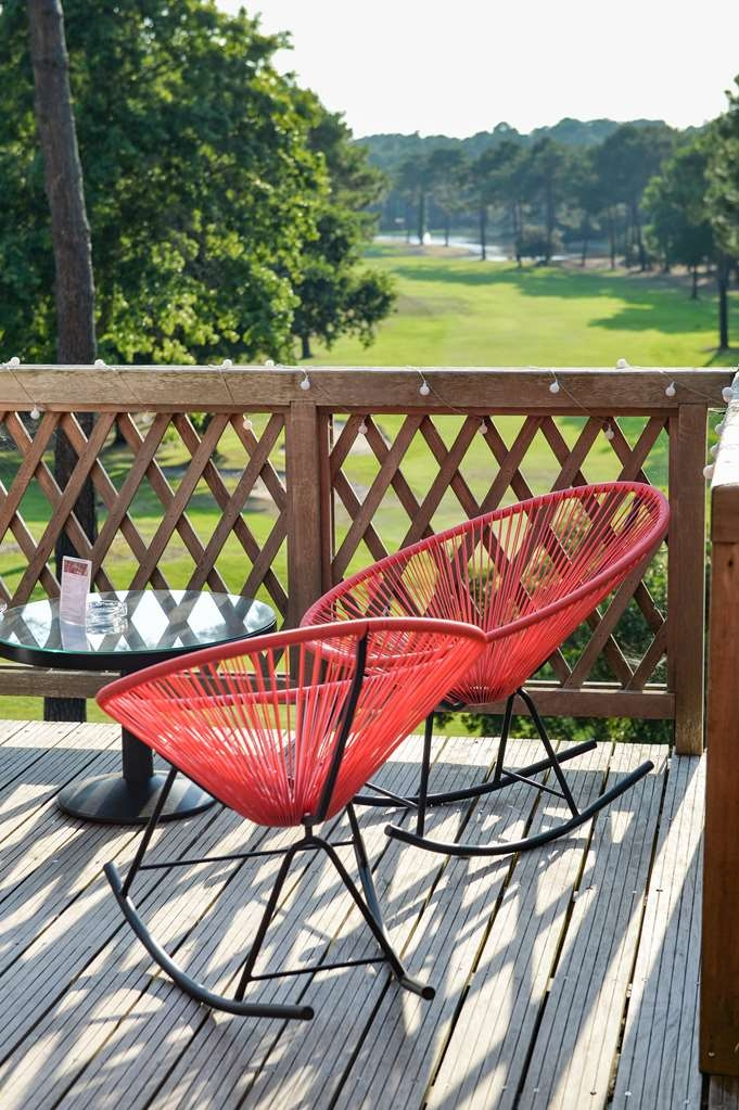 Best Western Golf Hotel Lacanau - Terrasse