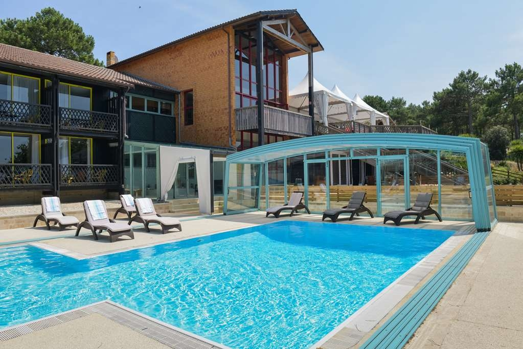 Best Western Golf Hotel Lacanau - Piscina all'aperto