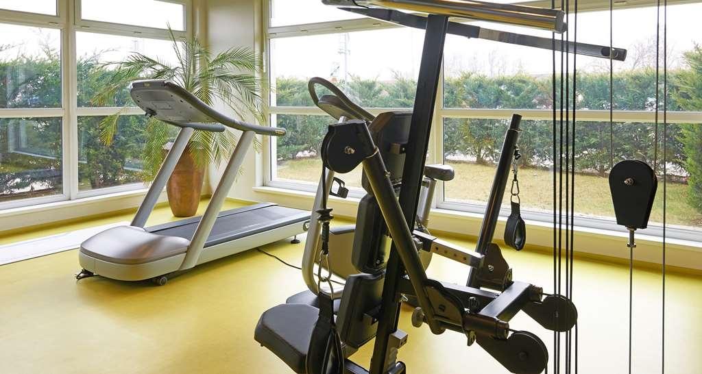Best Western Plus Hotel Le Rhenan - Fitnessstudio