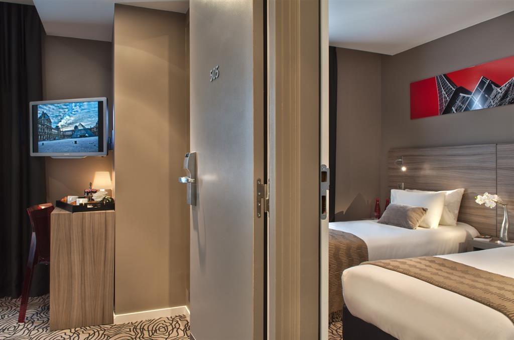 Best Western Paris Porte de Versailles - Habitaciones/Alojamientos
