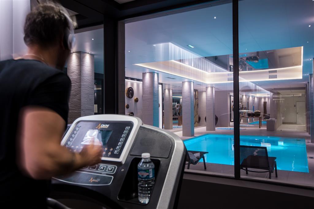 Best Western Plus Hotel & Spa de Chassieu - Fitness Center