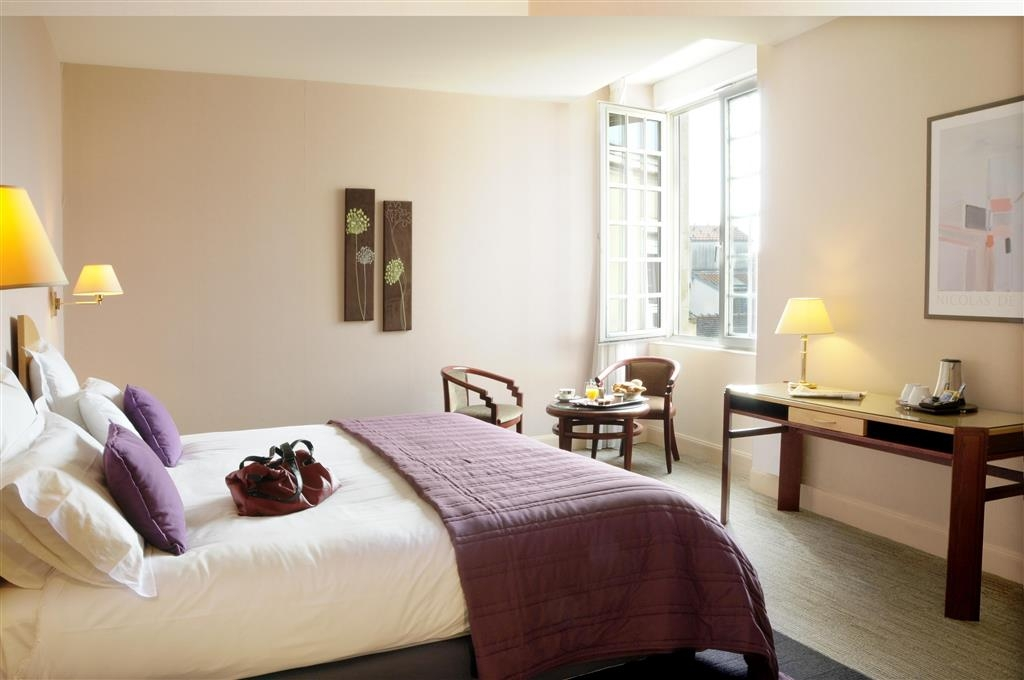 Best Western Poitiers Centre Le Grand Hotel - Chambres / Logements
