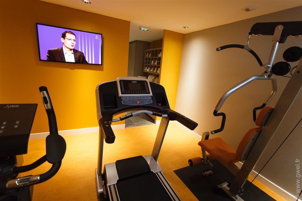 Best Western Plus Paris Meudon Ermitage - Fitnessstudio