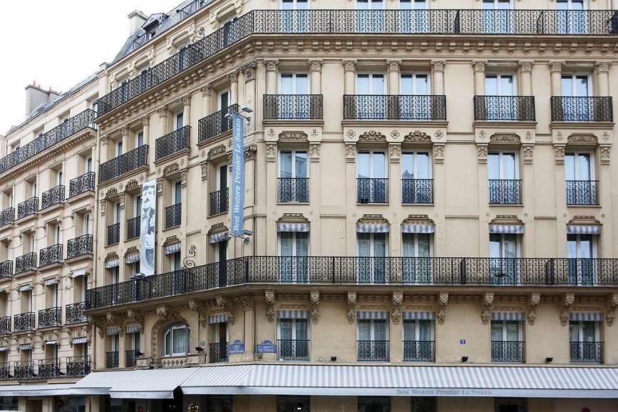 Hotel Best Western Premier Le Swann, Paris