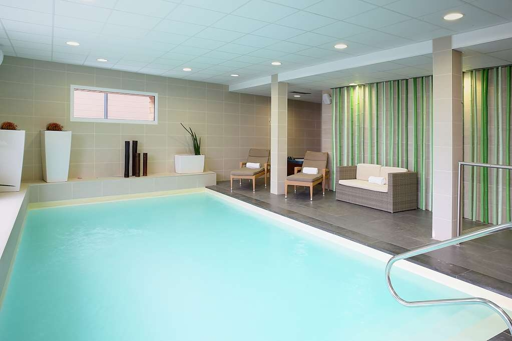Best Western Plus Les Terrasses de Brehat - Vue de la piscine