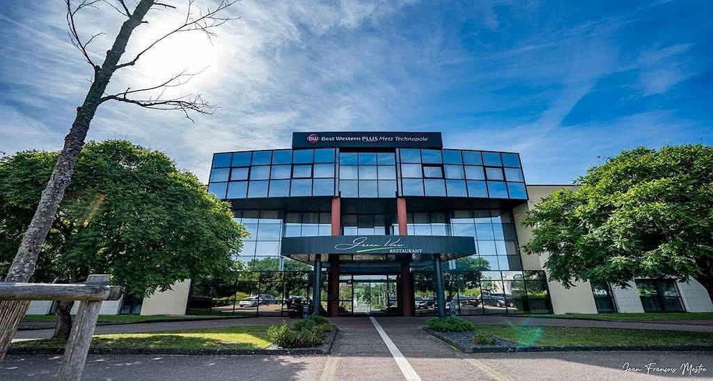 Best Western Plus Hotel Metz Technopole - Entrée hôtel