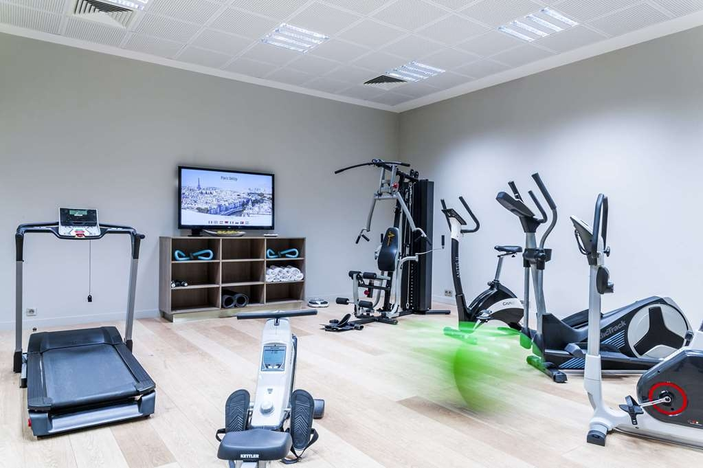 Best Western Plus Paris Velizy - fitnessraum