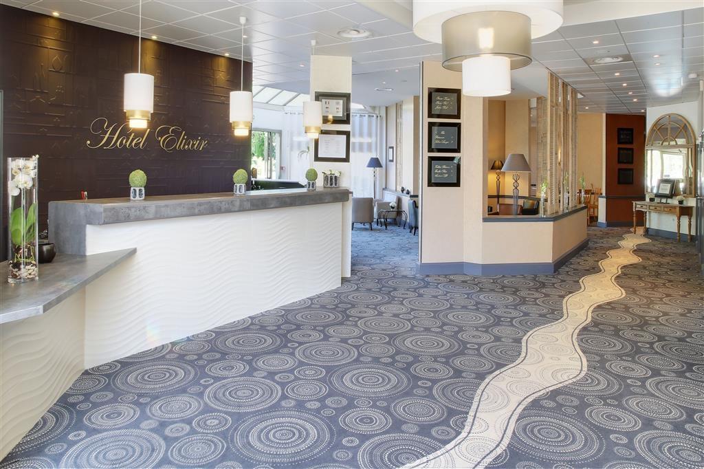 Best Western Plus Hotel Elixir Grasse - Vue du lobby