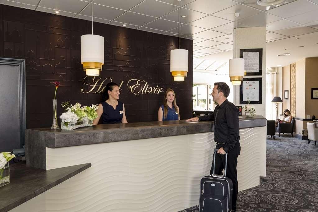Best Western Plus Hotel Elixir Grasse - Lobbyansicht