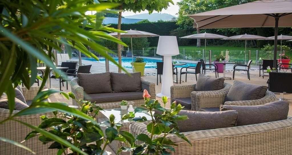 Best Western Plus Hotel Elixir Grasse - Terrasse psicine