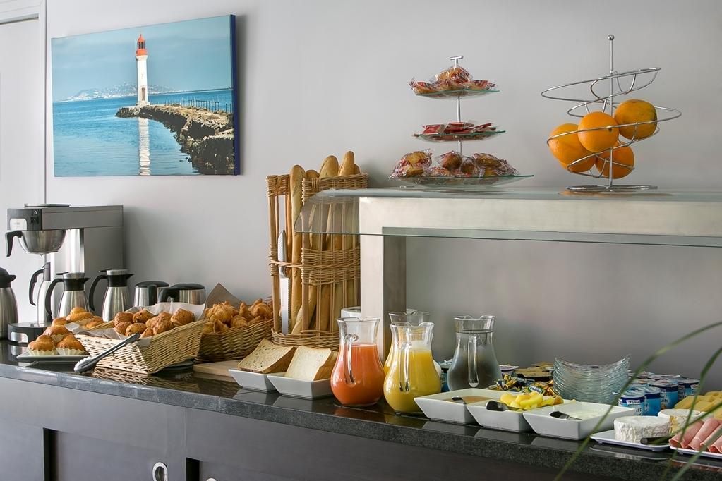 Best Western Hotel des Thermes - Le petit déjeuner buffet