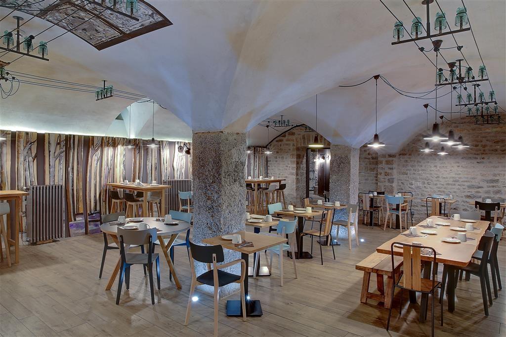 Best Western Citadelle Besancon - Breakfast Area