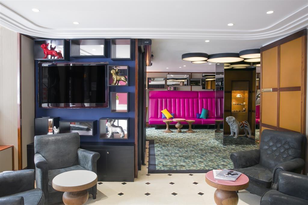 Best Western Premier Opera Faubourg - Lounge