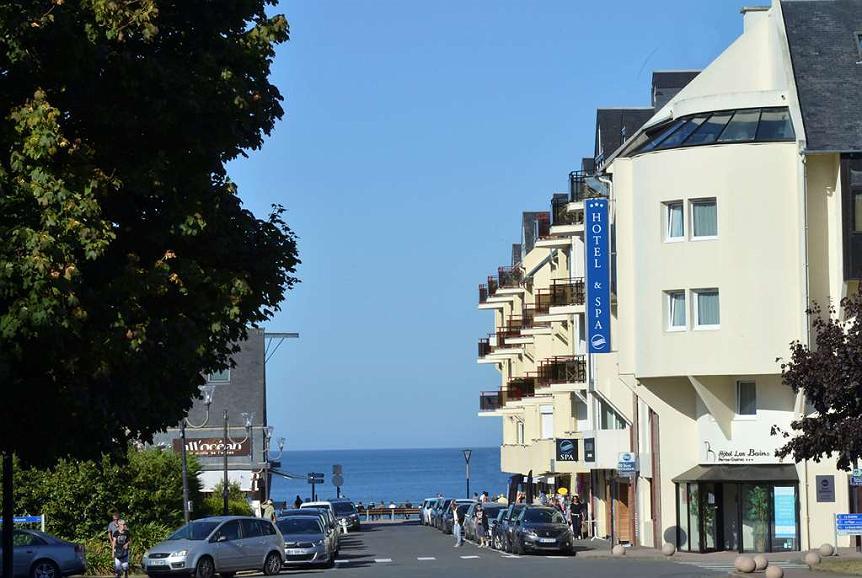 Best Western Les Bains de Perros-Guirec Hotel et Spa - Exterior
