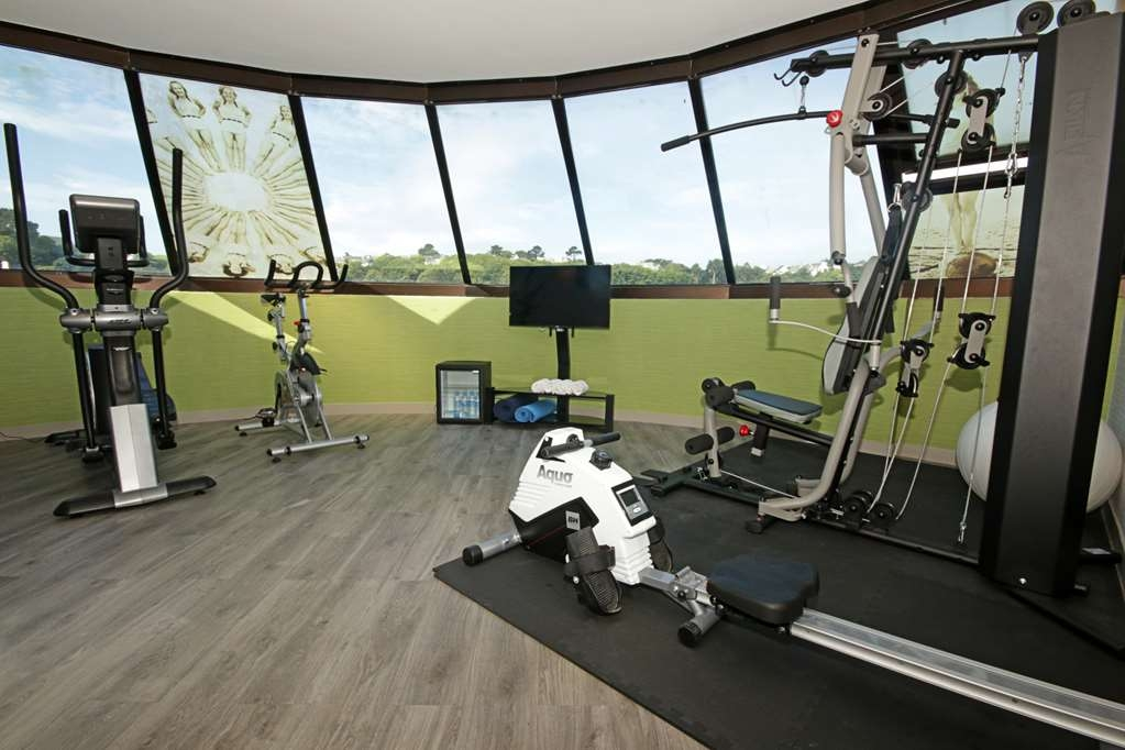 Best Western Les Bains de Perros-Guirec Hotel et Spa - Fitness Room