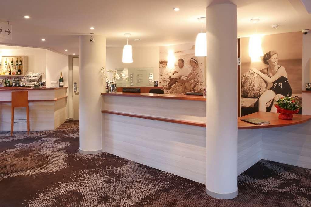Best Western Les Bains de Perros-Guirec Hotel et Spa - Vue du lobby