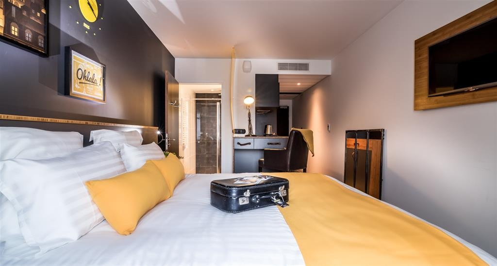 Best Western Plus Suitcase Paris la Defense - Gästezimmer