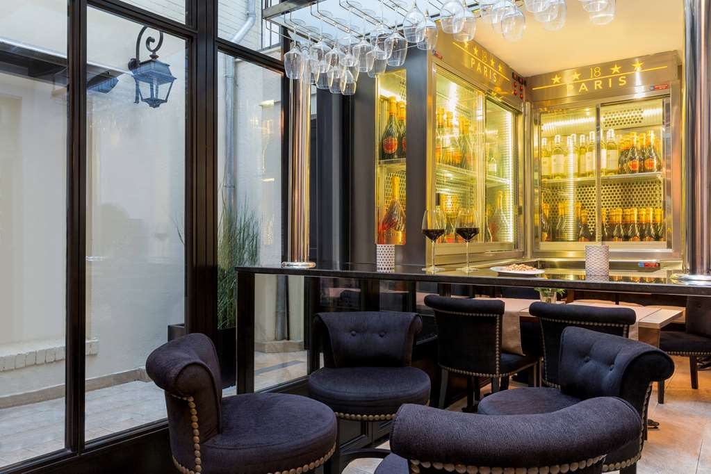Best Western Hotel le 18 Paris - Lounge Bar