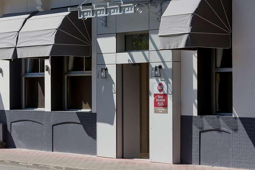 Best Western Plus Hotel Le Rive Droite & SPA - Vista exterior